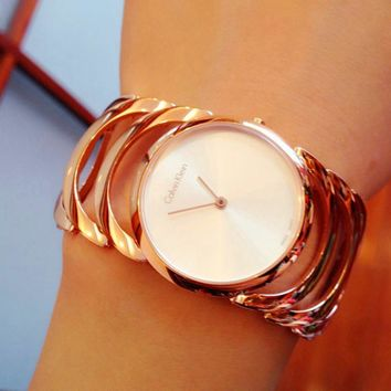 Calvin Klein Women Fashion Quartz Movement Watch1