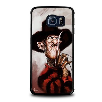 freddy krueger 3 samsung galaxy s6 edge case cover  number 1