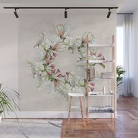 Magnolia rules Wall Mural by anipani