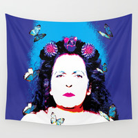 My Mother Wall Tapestry by Azima