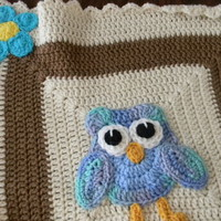 Owl Blanket Preview - enikatreasuresanddesign