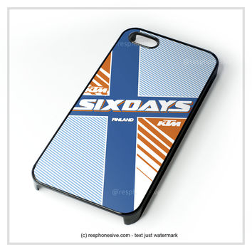 Ktm Motorcycle Six Days Finland Mx iPhone 4 4S 5 5S 5C 6 6 Plus , iPod 4 5 , Samsung Galaxy S3 S4 S5 Note 3 Note 4 , HTC One X M7 M8 Case