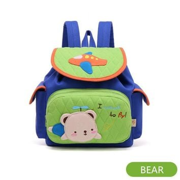 Toddler Backpack class Little Kids Children's School Bags Backpacks 3D Cartoon Rabbit Small Backpack Toddler Baby Girls School for 1-3 Years Old AT_50_3