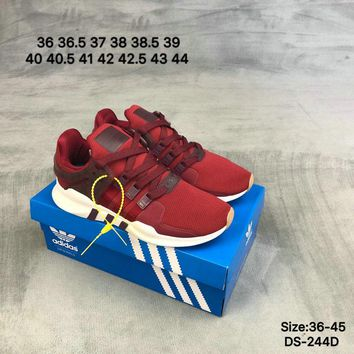 Adidas EQUIPMENT SUPPORT ADV Men Women Fashion Casual Sports Running Shoes Red