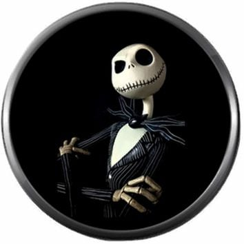 So Cool Jack Skellington Halloween Town Nightmare Before Christmas 18MM - 20MM Charm for Snap Jewelry New Item