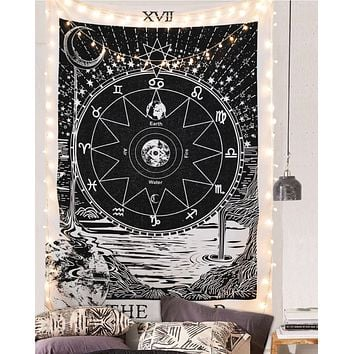 "The Star Tapestry Wall Hanging (The Star, 59""×59"")"