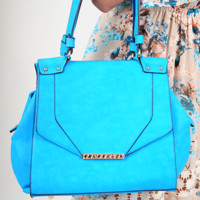 Always Want You Purse: Sky Blue