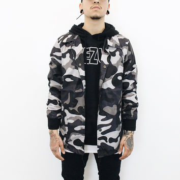 Gary Camo Windbreaker (Grey)