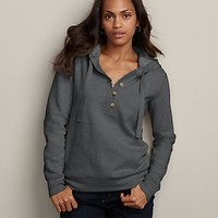 Slub Fleece Hooded Pullover | Eddie Bauer