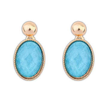 Stylish Elegant Water Droplets Earrings [4920481348]