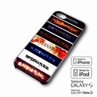 Supernatural Tumblr iPhone case 4/4s, 5S, 5C, 6, 6 +, Samsung Galaxy case S3, S4, S5, Galaxy Note Case 2,3,4, iPod Touch case 4th, 5th, HTC One Case M7/M8