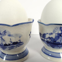 Delft Blue Egg Cups DBL