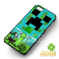 Adventure Time Minecraft - 21z for  iPhone 4/4S/5/5S/5C/6/6+,Samsung S3/S4/S5/S6 Regular/S6 Edge,Samsung Note 3/4