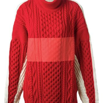Preen By Thornton Bregazzi chunky knit turtle neck sweater