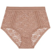 Lonely Taupe Agnes High Waist Brief