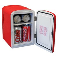 Coca-Cola Personal Fridge with AC Adapter - KWC4