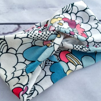 Flowers Pop Art Turban Headband