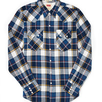 Levi's Western Shirt in Plaid Flannel