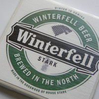 Game of Thrones Variety Pack of Five Ceramic Tile Beer Coasters