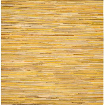 Safavieh Rag Rug RAR130H Yellow / Multi Rug