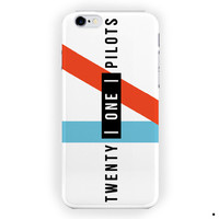 Twenty One Pilots  Lyrics Logo For iPhone 6 / 6 Plus Case