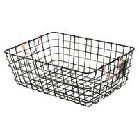Antique Pewter Decorative Wire Basket - Black - Threshold™ : Target