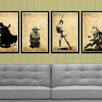 Star Wars Posters Set