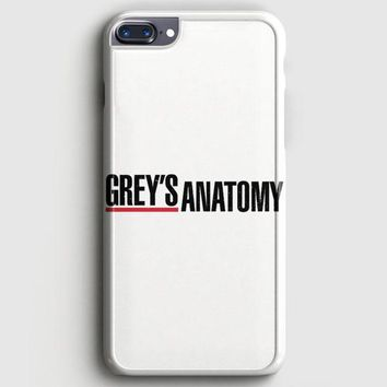 GreyS Anatomy White iPhone 7 Plus Case