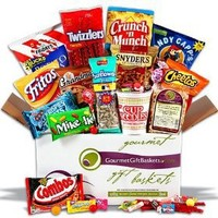 Junk Food Care Package Gift Basket