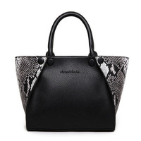 Women shoulder handbag messenger black Bag a13401