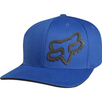 Fox Racing Youth Signature Flexfit Hat - One size fits most/Blue