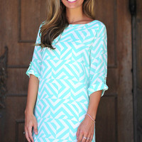 EVERLY: Think Outside The Box Dress | Hope's