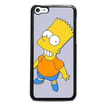 bart simpsons iphone 5c case cover  number 1