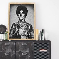 Prince Painting Poster Art Painting Print Canvas - Free Shipping