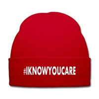 I KNOW YOU CARE Knit Cap | Beanie | Beyonces 711 video