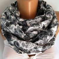 Vintage Style - Super Loop -Tube  Scarf - Infinity Scarf - Loop Scarf - Circle Scarf -It made with good quality cotton fabric - Super Loop