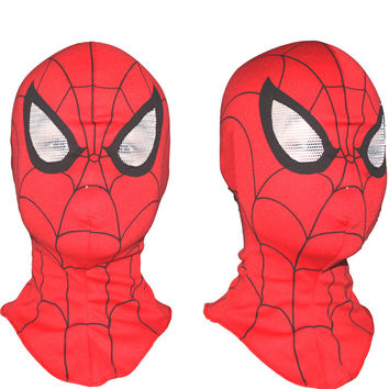 Spiderman Face Mask Party Holiday Maske Fits Adult and child