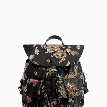 Oriental backpack - SCI FI | Stradivarius Germany
