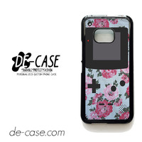Floral Vintage Gameboy For HTC One M9 Case Phone Case Gift Present YO