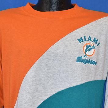 90s Miami Dolphins NFL Football Long Sleeve t-shirt Medium