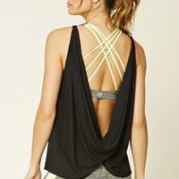 Active Twist-Back Tank