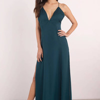 Naomi Low Back Maxi Dress