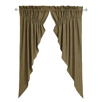 Tea Cabin Prairie Curtains