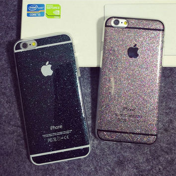 For iphone 6 Case Fashion Sparkly Cute Phone Cases For Apple iphone 6s Plus 5 5s Cover