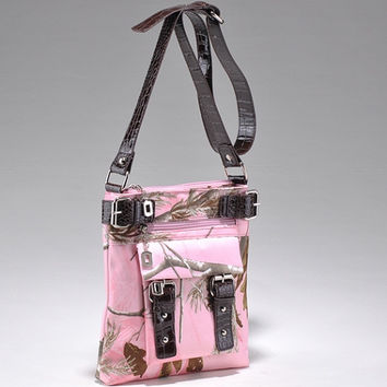 Realtree Camouflage Messenger Bag - 8535