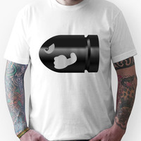 Super Mario 64, Bullet Bill, by Chillee Wilson Unisex T-Shirt