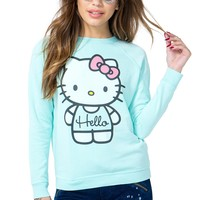 Minty Hello Kitty Sweatshirt