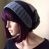 Slouchy beanie, sweater tam, hipster, unisex, warm, cozy