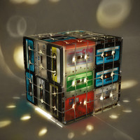 OOO MY DESIGN ? CASSETTE TAPES LAMP BOX