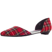 HOUSE OF STUART PLAID FLATS